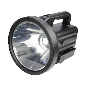 80W Tinggi Kuat 10000 Lumen 10Km Tahan Air Outdoor Led Obor Senter Rechargeable Searchlight