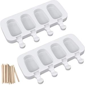 Eis Form Ice Cube Tray Popsicle Barrel Diy Form Silikon Eis Form mit Popsicle Stick