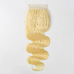 viplovely hair  good quality 613 closure 4*4 body wave