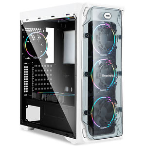 Del Gaming Towers Industrial Wholesale Fan Pc Tempered Computer Case