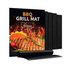 New Packing 2020 BBQ Grill Mat 100% Non stick ptfe grill mat