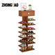 Modern shoe rack multi-layer simple shoe storage cabinet for home