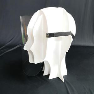 Haute Qualité Personnalisé Visage Garde Lunettes Cadre de Bouclier de Visage Chapeaux Amovible
