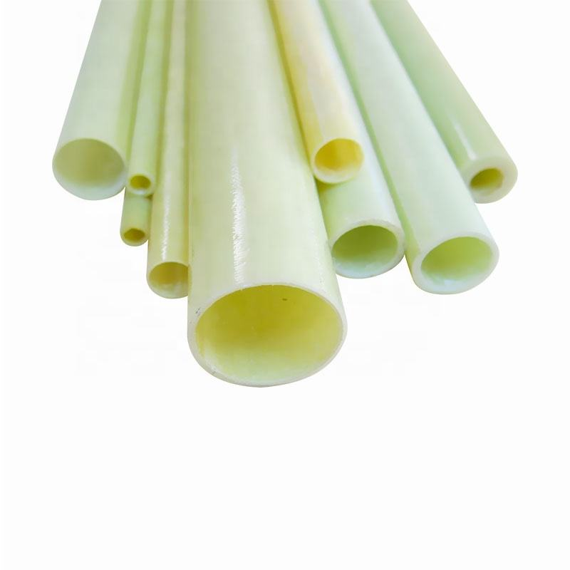 Electrical Insulation G10 Fiberglass Epoxy Tube Pipe For Sale
