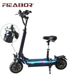 Dengan Harga Murah Folding Electric Scooter 1000 W 2000 W 48 V 52 V Electric Kick Scooter dengan Removable Kursi