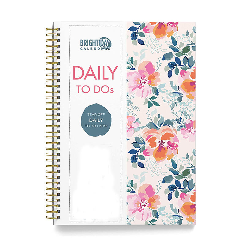 Myway to Do List Daily Task Checklist Planner Time Management Spiral Notebook
