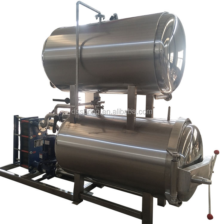 China Electric Retort Machine Sterilization For Can And Pouch Food Special