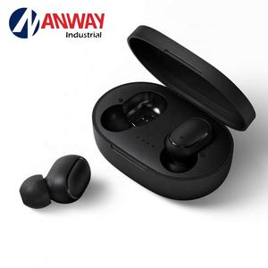 A6S Bluetooth Headset 5.0TWS Earphone Membatalkan Kebisingan dengan MIC Stereo Olahraga Headphone In-Ear Airdots Wireless Earbud