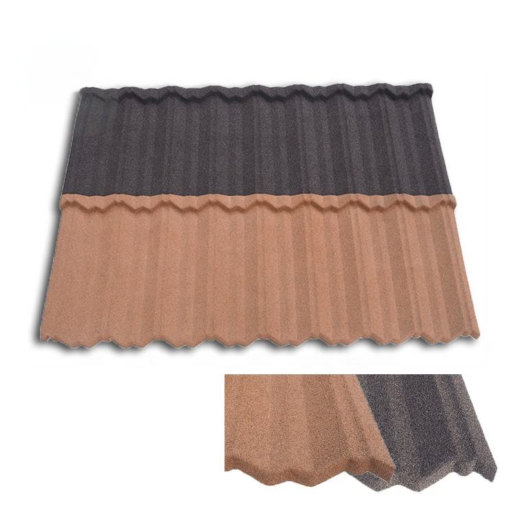 Colorful Stone Chip Coated Metal Roofing in Nigeria /zinc aluminum Steel Roofing Tile Sheet /color roof price in the philippines
