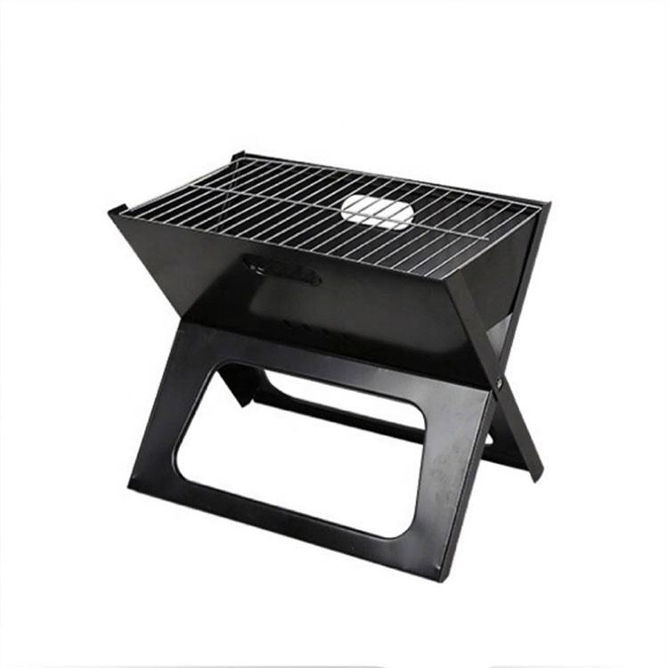 China factory bbq grill stand not coated folding barbecue grill designs