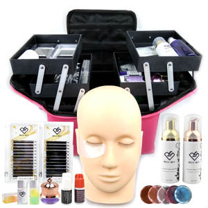 Private Label Lashes Box Individuele Extensions Tool Professionele Wimper Extension Kit