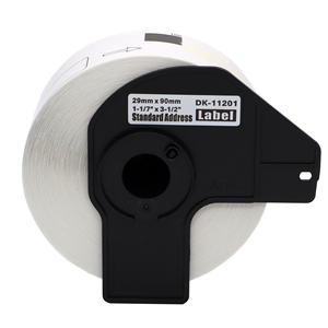Aimo Good Quality 11241 Large Shipping Waterproof Thermal Paper Roll 102mm x 52mm x 200pcs for Brother Labels DK 1241