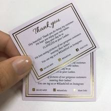 Gold Matte Silk Screen Printing Paper Cards For Promotion