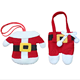 Wholesale Christmas holiday desktop decoration creative knife and fork bag Christmas small clothes set