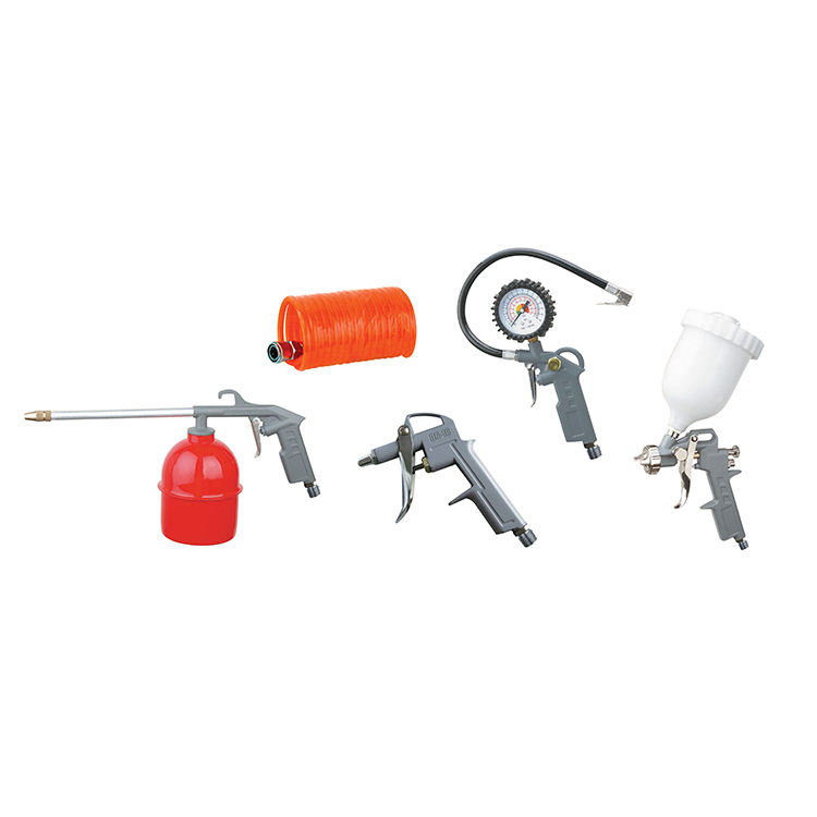 5pcs Air Spray Gun Kits Factory Sale Various Widely Used Inflatable Gun Model Air Tire Inflating Gun