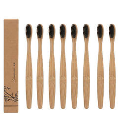 OEM BPA Free 100% Biodegradable Bamboo Toothbrush