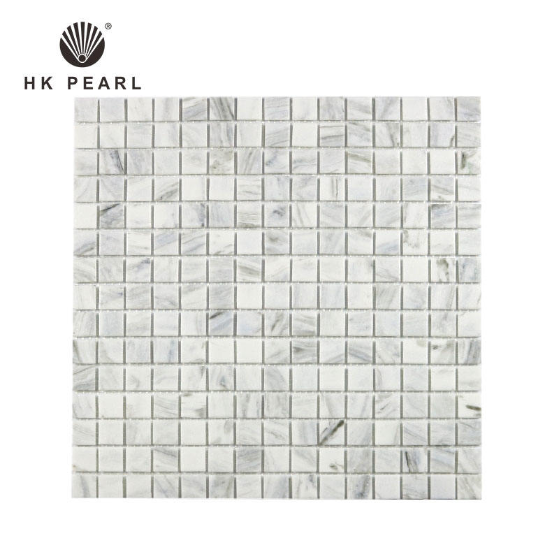 China Manufacturer Exterior Glass Tiling Bathroom Kitchen Floor Wall Mosaic Tile