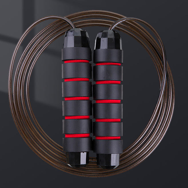 plastic supplier manufacturer gym fitness rope nylon buy pvc steel wire weighted cotton skipping jump jumping rope