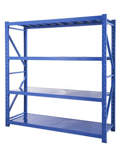 Industrial Storage Rack Long Span Shelves, Warehouse Fixing Frame Storage Shelf Rack