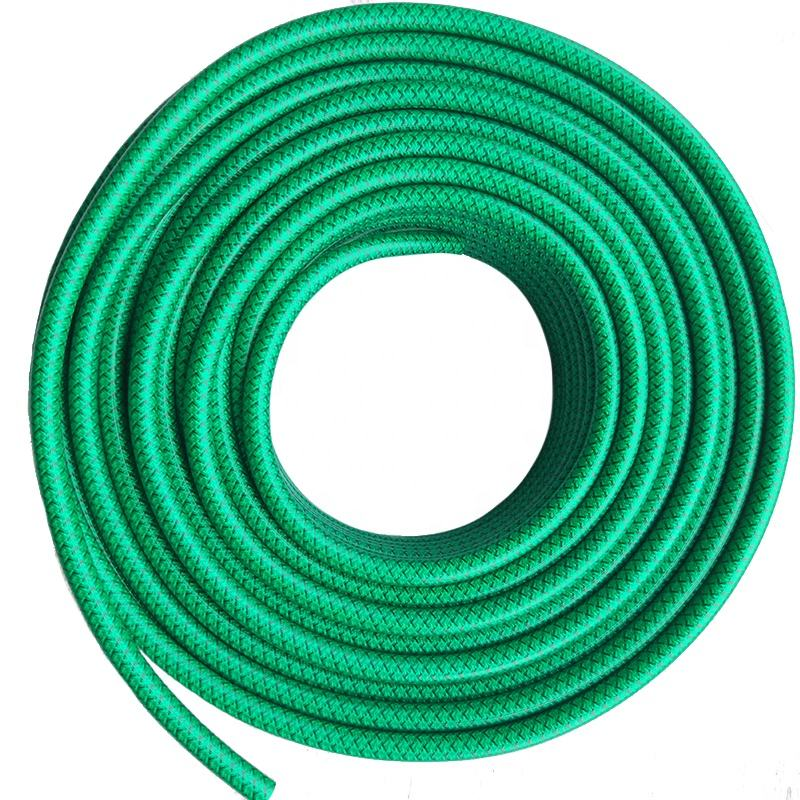 5/16 Inch High Pressure Weaved Reinforced Korea Style Knitted PVC spray hose Brass Fittings