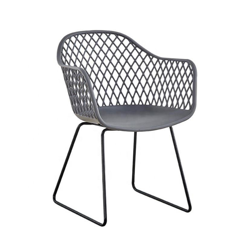 Wholesale china factory furniture new design big size comfortable pp plastic dining chair