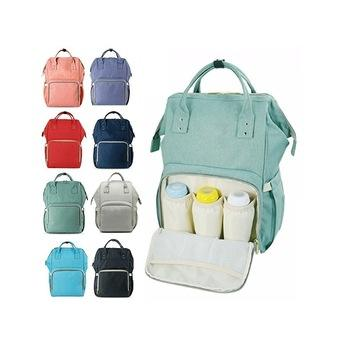 Factory OEM Custom Wholesale Polyester Maternity Baby Diaper Bag