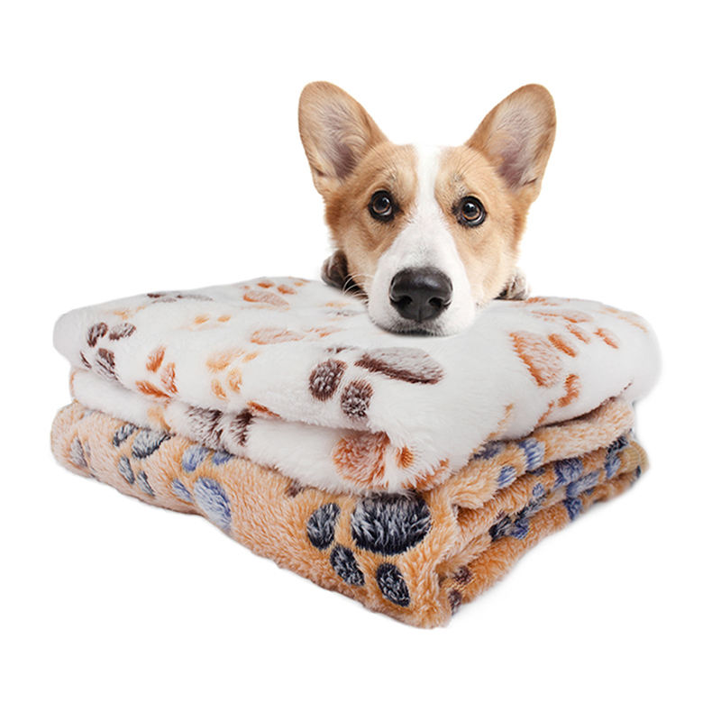 Pet Soft Blanket Pet Mat Puppy Cat Winter Dog Bed washable by machine