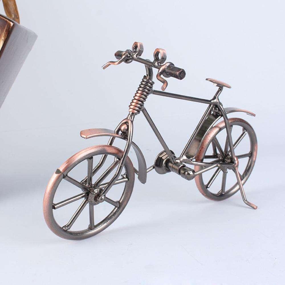 Iron art tourist crafts exquisite iron art minicycle model tourist souvenirs wholesale
