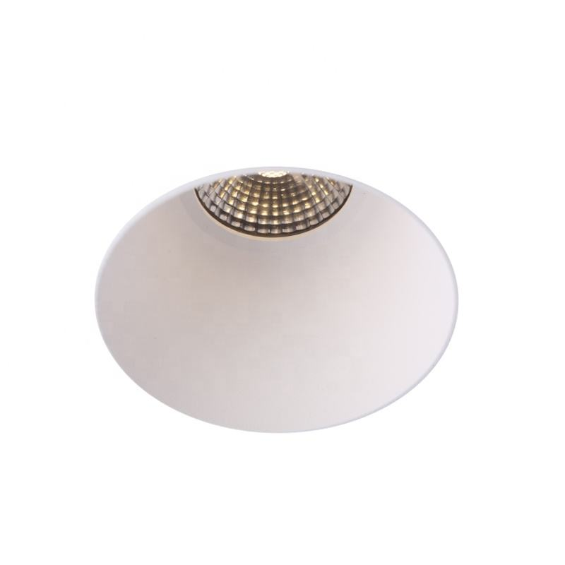 Populaire Europese Stijl 10W Dimbare Plafond Led Licht CRI92 Eenvoudige Installatie Led Trimless Licht Cob