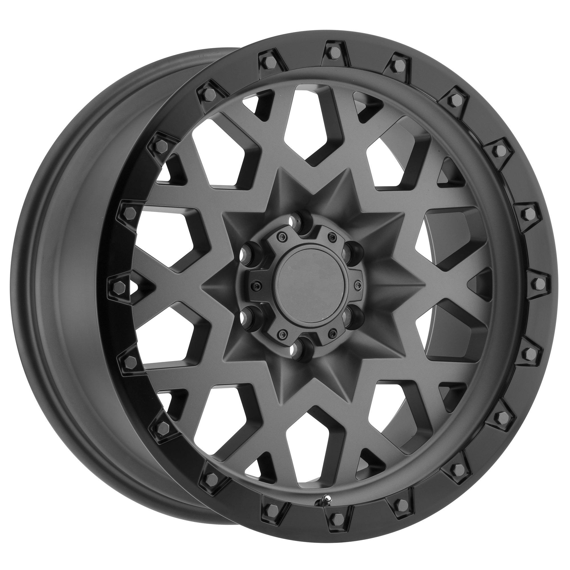 New design factory direct selling alloy wheels,17x9 6 hole 6x114.3 offroad vehicle wheel rim