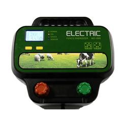 40KM solar 5J intelligent electric fence energizer charger for goat farm equipment farm equipment fencers