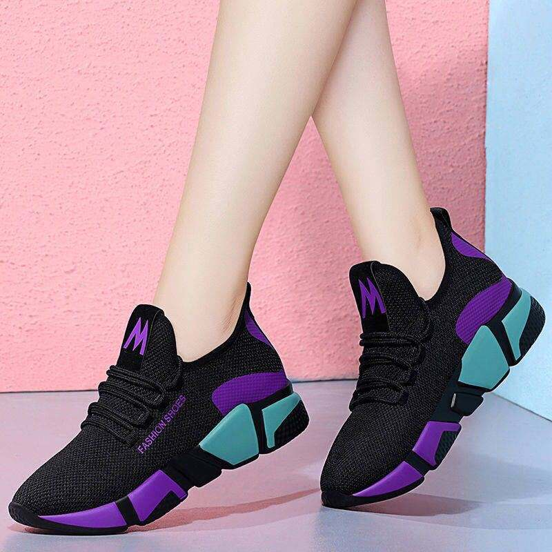 Wholesale Cheap Women Sneakers White Platform Trainers Women Casual Female Shoes Womens Mesh Sneaker