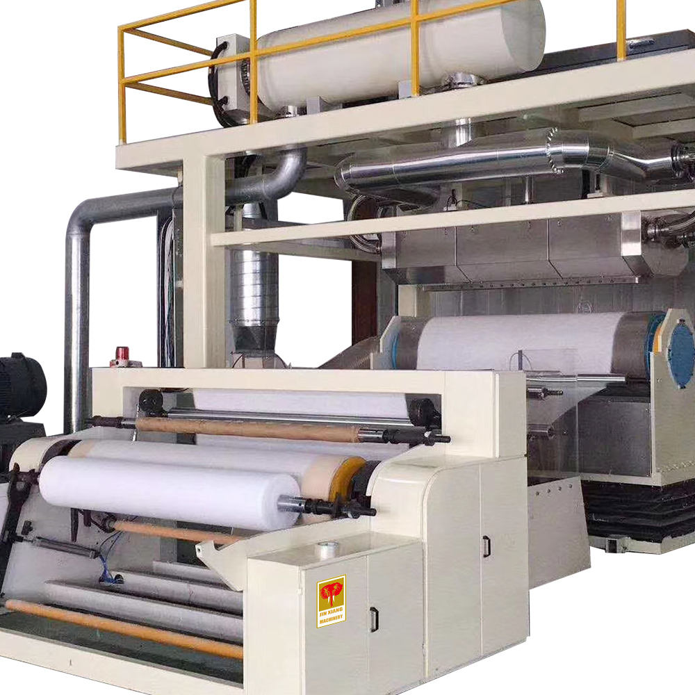 non woven sounbonded and meltblown machine