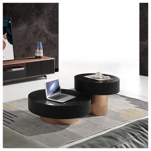 SK1905A Nordic Modern Home Furniture Durable Natural Wood Coffee Table