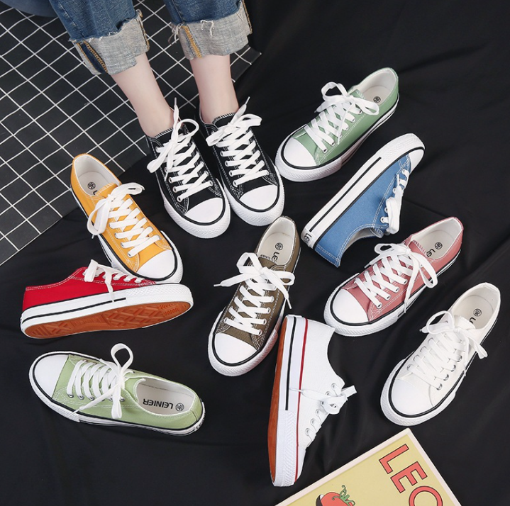 PCB091 Sepatu Zapatillas Original Custom Shoes Lace up Vulcanized Flat Casual Sneakers Canvas Shoes Men and women sneaker