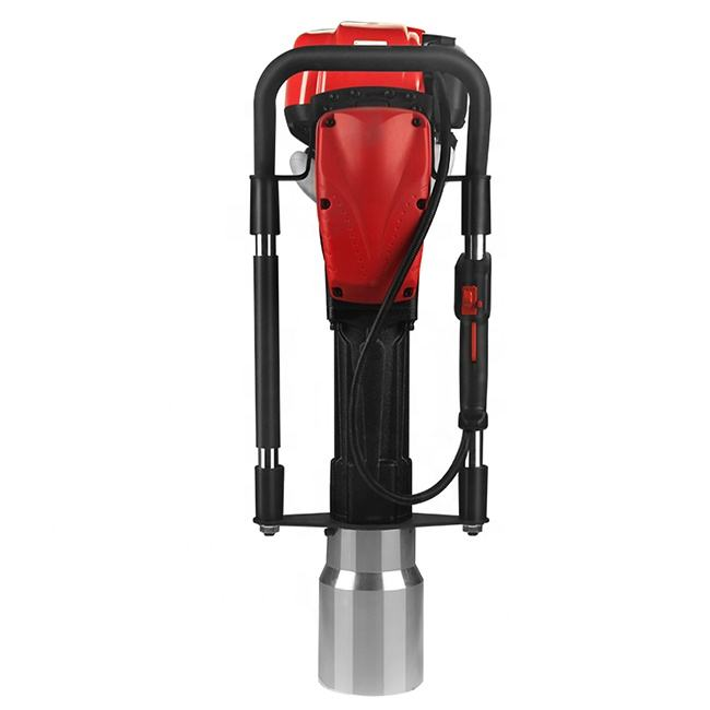 DPD-120 powerful gasoline pile driver petrol post driver up to 120mm