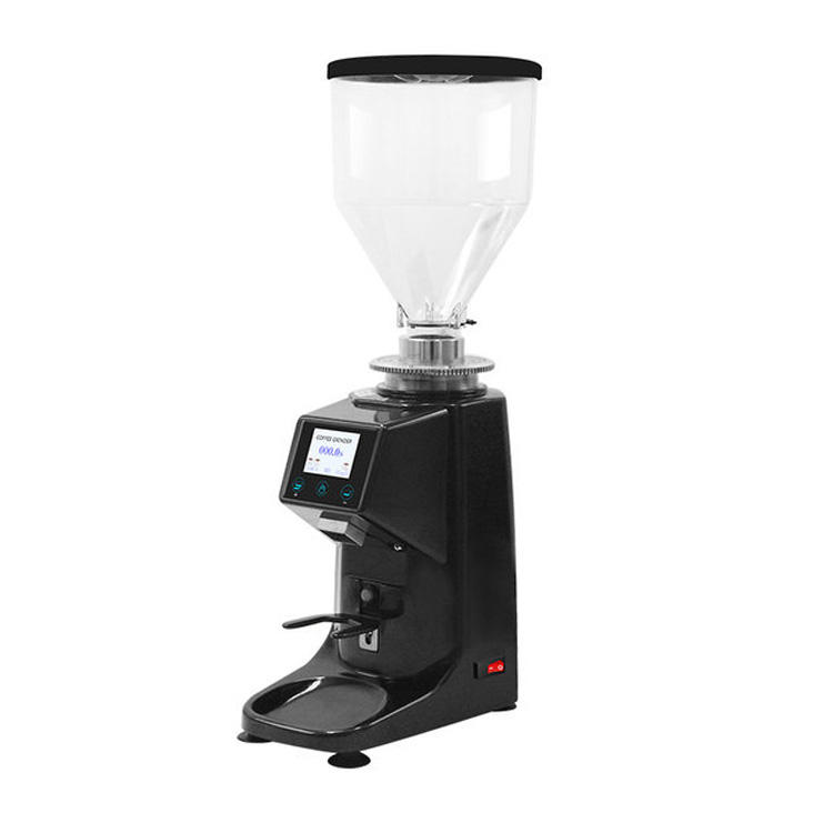Professional Touch-screen Grinding Disc Coffee Grinder Espresso Bean Machine for Sale