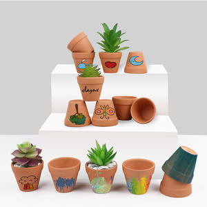 Wholesale China Outdoor Garden Supplies Manufacturer Small Plant Flower Clay Terracotta Cheap Ceramic Flowering Pots In Bulk
