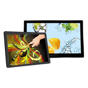 Rockchip RK3288 wall mount 10.1 inch lcd reclame tablet rj45 interface met POE