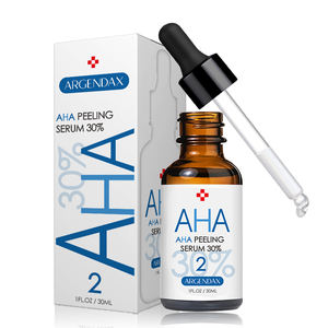 24k Gold Serum AHA 30% and BHA 2% Peeling Solution Facial Whitening AHA Serum for acido hialuronico Acide Hyaluronique
