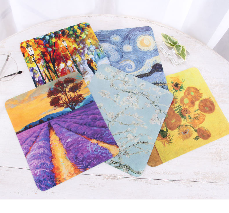 Ultra Premium Quality Clean & Clear Microfiber Cleaning Cloths,World Best Classic Art Collection