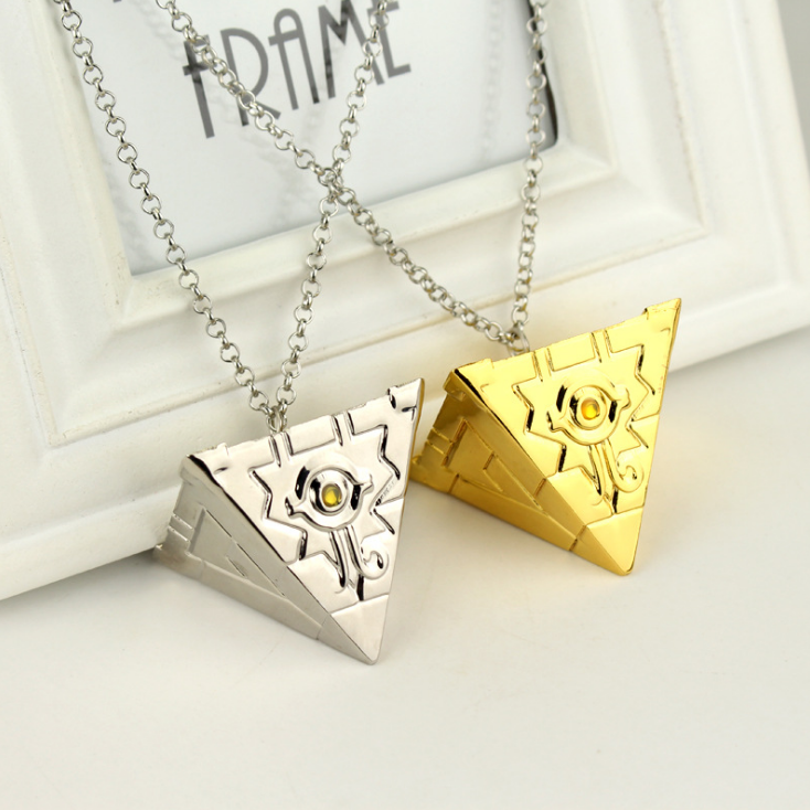 UFOGIFT Game King Millennium Building Block Necklace Seven Artifact Millennium Artifact Pendant Duel Monsters Necklaces