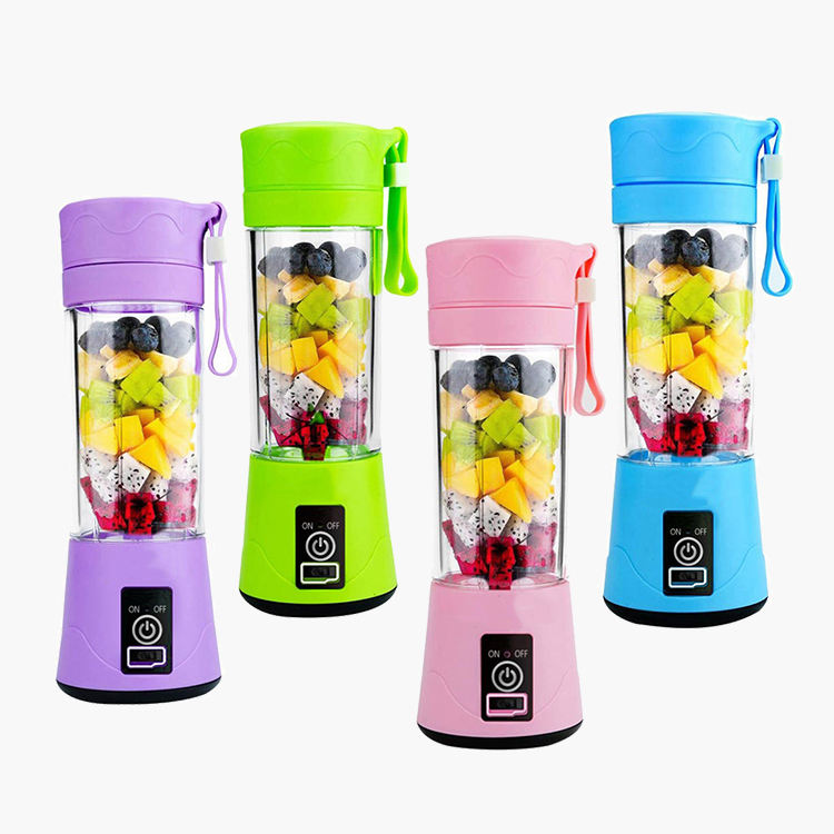 mini automatic extractor usb mixer Logo Shaker Bottle Rechargeable Blender Juicer and Mixer