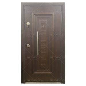 Chinese factory customized cheap Turkey armored steel door