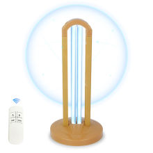 UV Disinfection Light Remote Control 38 Watt Ultraviolet Germicidal Lamp with Ozone Portable Quartz Lamps