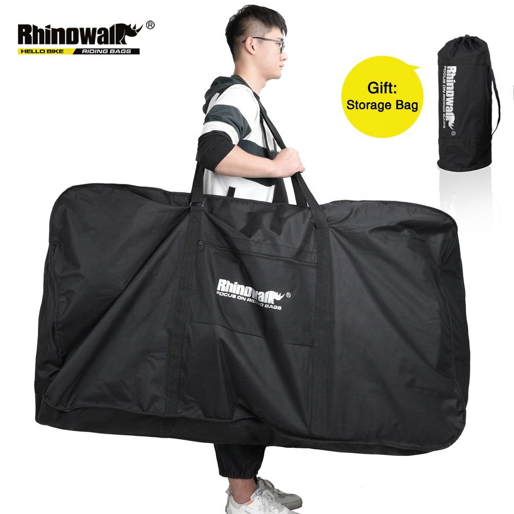 Rhinowalk Folding Bicycle Carry Bag for 26 Inch Portable Cycling Bike Transport Case Travel Bicycle Accessories