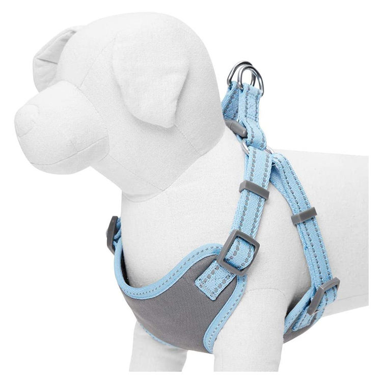 Hot Selling Simple Reflective Dog Harness Vest No Pull Adjustable Harnesses for Dogs