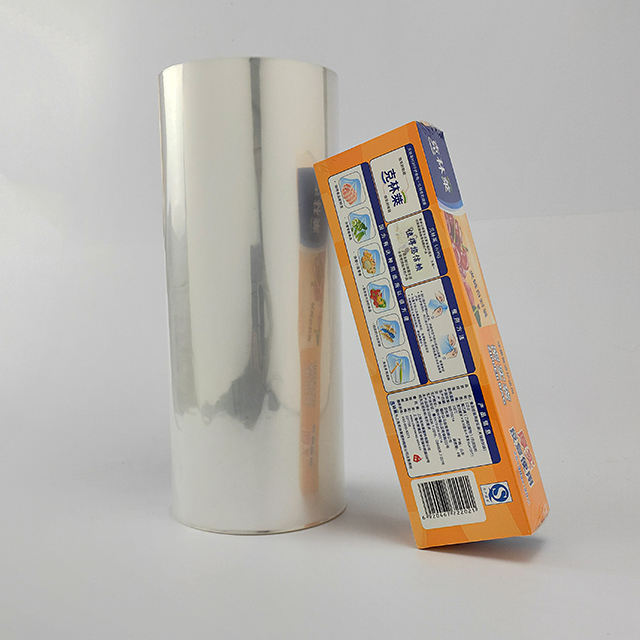 Lypack flexible pof centerfold shrink packaging film with good shrinkable