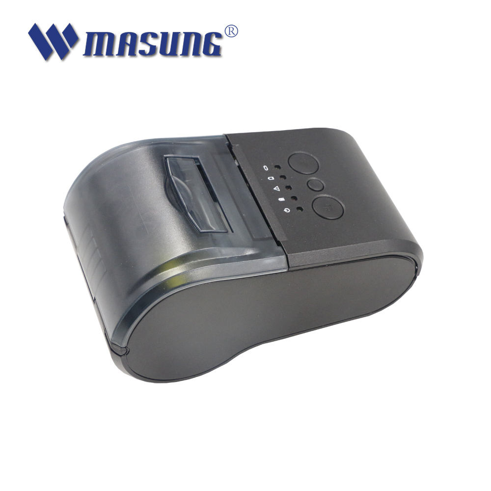 High quality 58mm bluetooth thermal Receipt Restaurant Handheld Printer