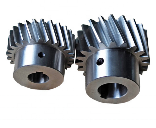 Custom OEM High Quality Transmission Pinion Gear Steel Forging Durable Helical Gear
